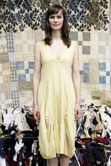 Donna Karan Vogue 1175 done the Alabama Chanin DIY way! Jersey and ...