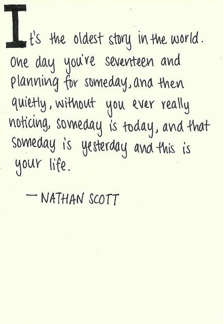 One tree hill ... The Giving Tree Quotes Tumblr ... - HONEY