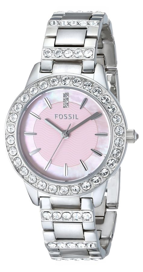 fossil watch women's stainless steel bracelet
