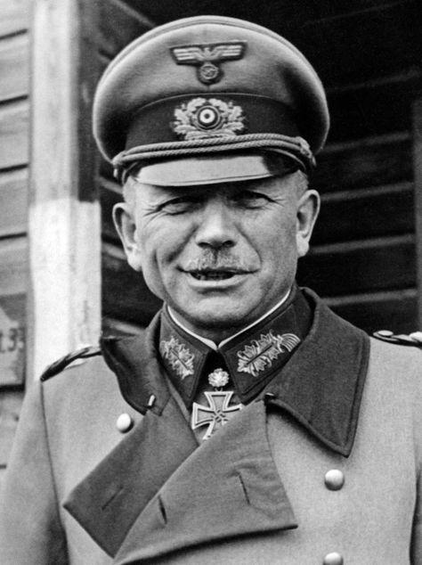 German General Heinz Guderian * B&W 13 x 19 Print * WWII | eBay