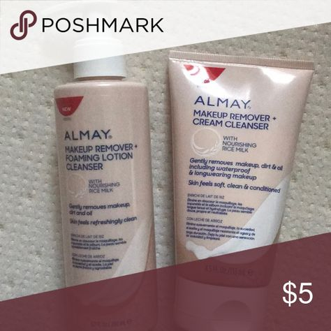 Almay facial cleansers