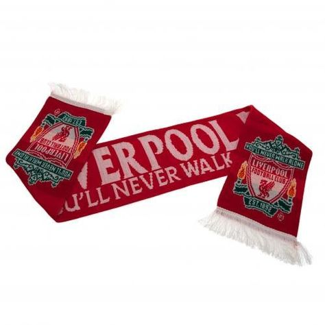 Club Licensed Liverpool Mo Salah Knitted Scarf