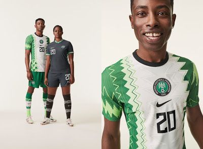Nike Unveils New 2020 Kits For Nigerian National Football Teams In 2020 Football Jersey Outfit National Football Teams Eagles Jersey
