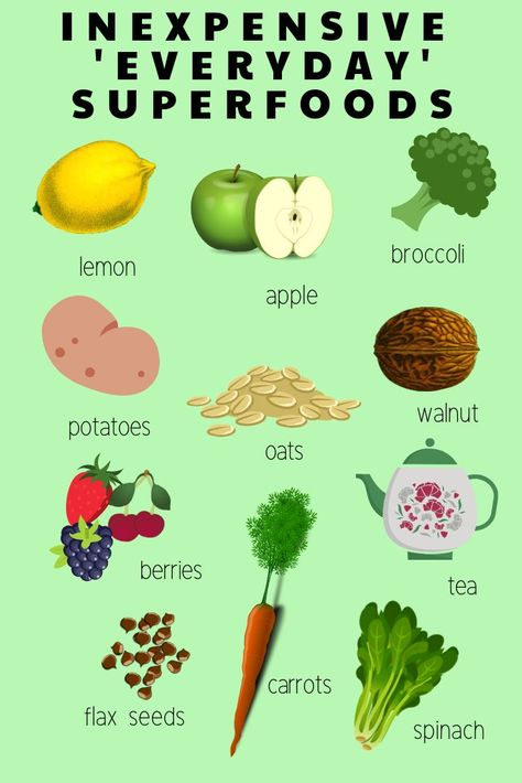 11 Everyday Superfoods
