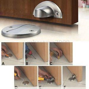 Magnetic Door Holder Stopper Invisible Doorstop Wall Floor Mounted Safety Catch Door Holders Door Stop Flooring