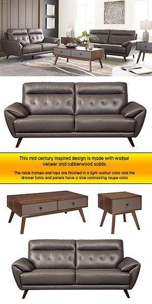Sissoko -Gray- 5PC Living Room Collection | Living Room ...