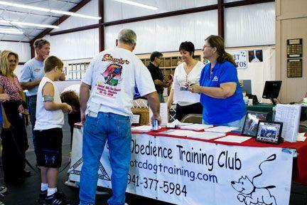 Sarasota Obedience Training Club Training Your Dog Fundraising