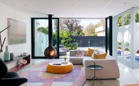 L\'architecte australien Robert Puksand a conçu une maison moderne au ...