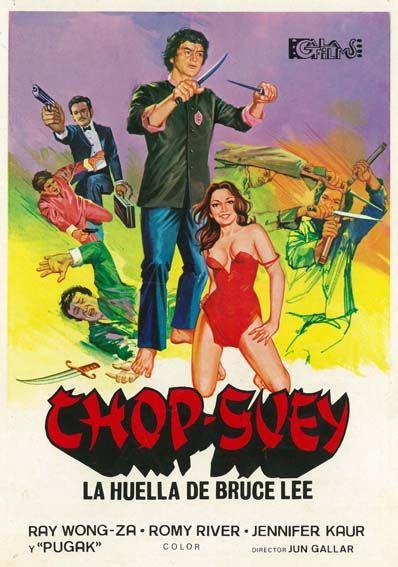 Chop Suey La Sombra De Bruce Lee 1975 They Call Him Chop Suey
