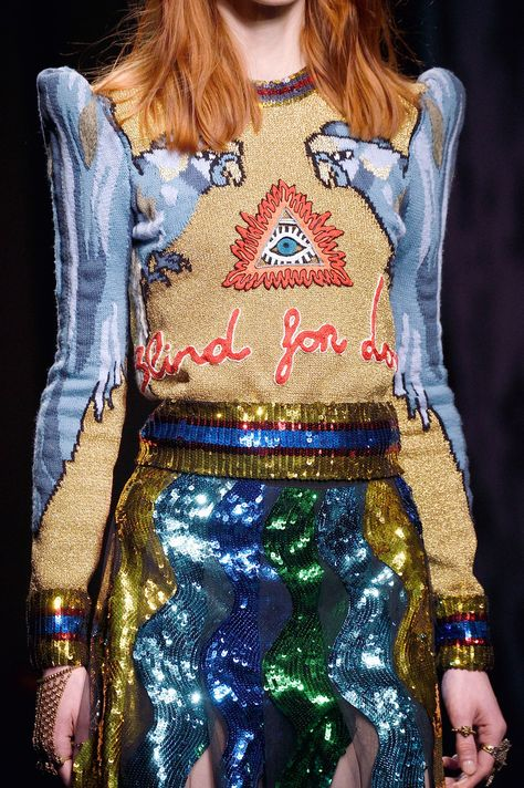 """mulberry-cookies: """"Gucci by Alessandro Michele Fall/Winter 2016 (Details) """""""