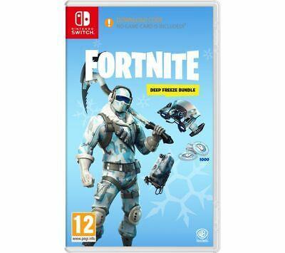 Nintendo Switch Fortnite Deep Freeze Bundle Currys Fortnite Uk London Nintendo Switch Games