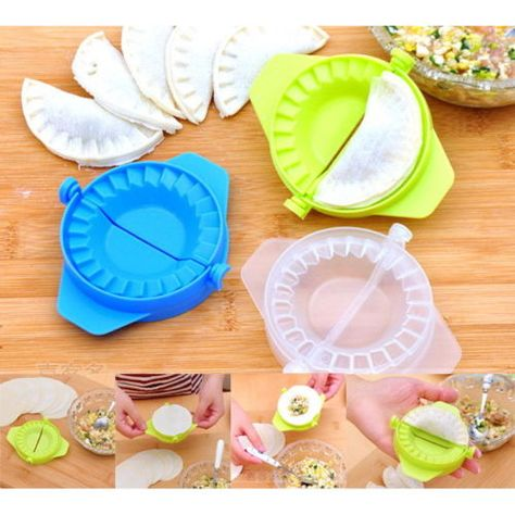 Easy Kitchen Dumpling Tools Dumpling Maker Device DIY Jiaozi Mold Gadgets