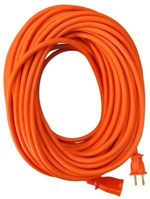 Master Electrician 02208me 50feet Round Vinyl Extension Cord Orange By Master Electrician Find Out More About Th With Images Outdoor Extension Cord Extension Cord Cord