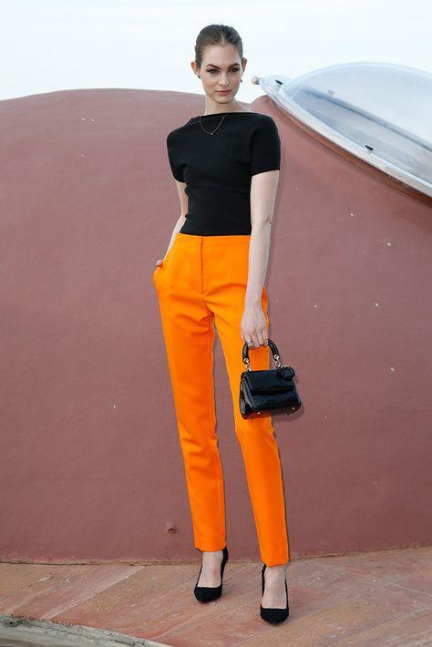 47 Ideas De Pantalon Naranja Moda Para Mujer Moda Ropa