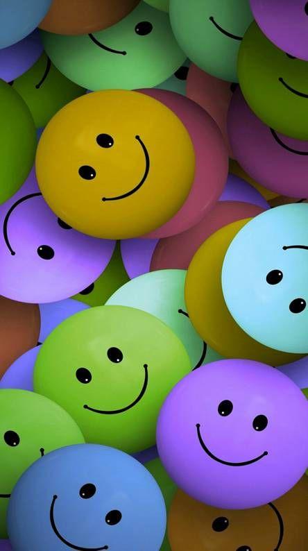 Smiley Emoji Wallpaper Happy Wallpaper Cute Wallpapers
