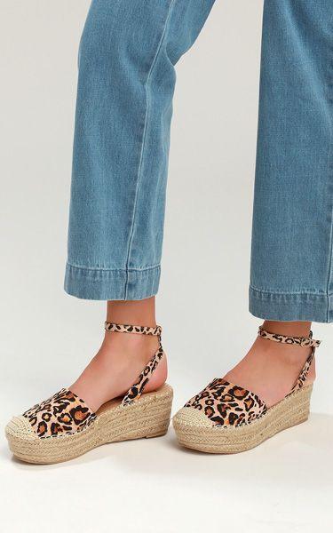 5f1471e89c1 Janelle Leopard Print Flatform Espadrilles | Women's Fashion ...