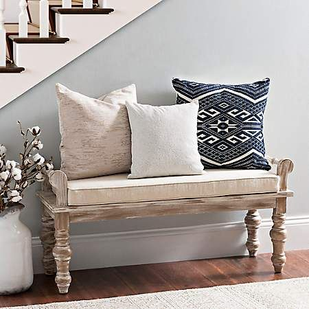 Suzanne Rustic Wooden Bench Bench Decor Furniture Rustic Wooden Bench