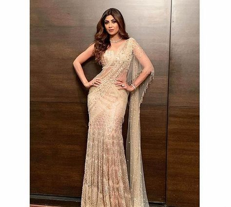 Saree Blouse Designs for Latest Blouse Trend Forecast Tarun Tahiliani Latest Saree Blouse Trends 2019 Shilpa Shetty