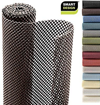 Amazon Com Smart Design Shelf Liner W Premium Grip Wipes Clean Cutable Material Non Slip Design For Shelves D Shelf Liner Smart Design Cleaning Wipes