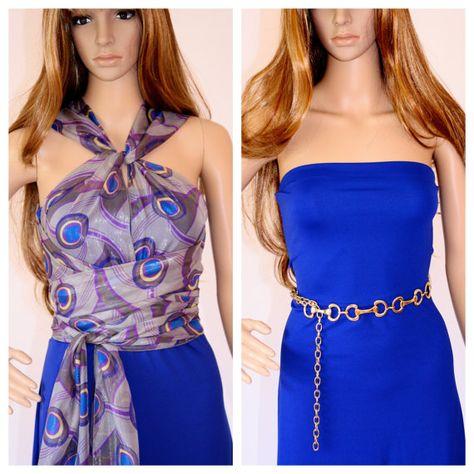 List Of Pinterest Vestido Mil Formas Azul Pictures