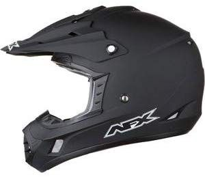 Flat Black, Large AFX FX-17Y Unisex-Child Off-Road-Helmet-Style Helmet