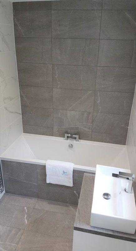 39 Trendy Bath Panel Ideas Tile Grey Marble Bathroom Bathroom Wet Wall Grey Bathroom Tiles