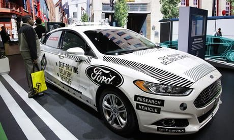 Ford Backed Self Driving Car In Crash That Sent Two To Hospital Self Driving Car Ford