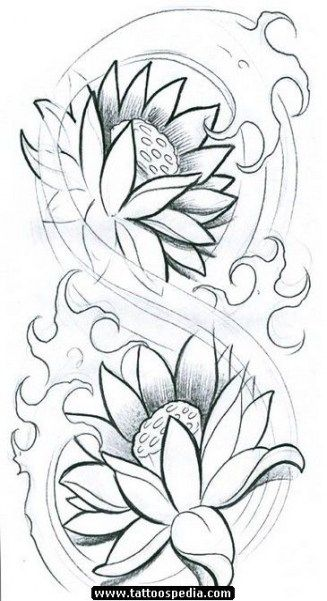Tattoo Designs Ideas Sketches Lotus Flowers 44 Ideas Japanese Flower Tattoo Lotus Flower Tattoo Design Lilies Drawing