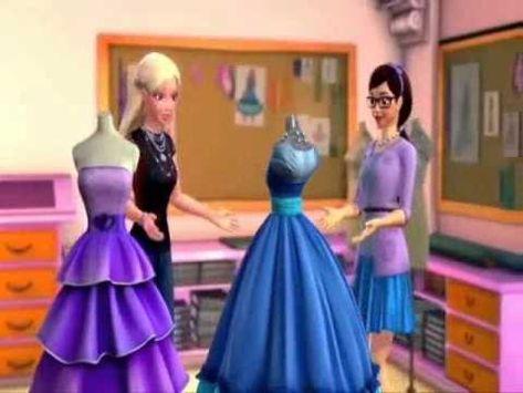 Barbie Em Moda E Magia A Vida E Moda E Magia Barbie Princesa Roupas Para Barbie Estilo Barbie