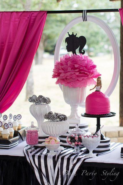 Vintage Barbie Birthday Party Ideas