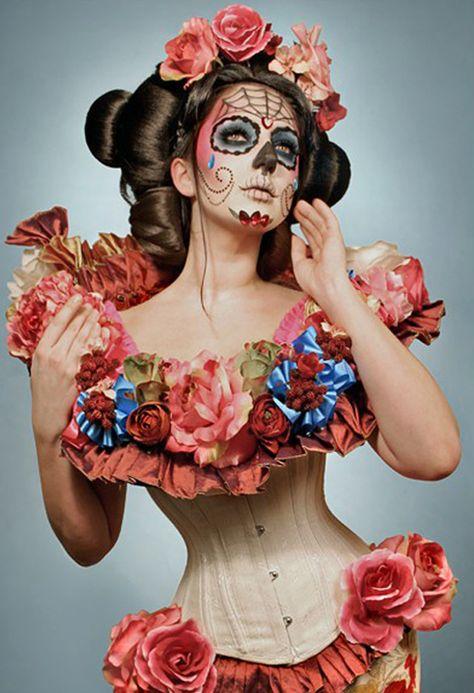 ❤Happy Halloween❤!! Halloween Fashion Beauty by Kelly , via Behance