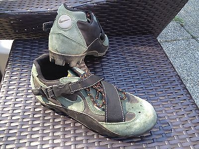 Mens Nike Acg Cycle Mt Bike Shoes Mtb Clip In Spd Cleats Size 8 5