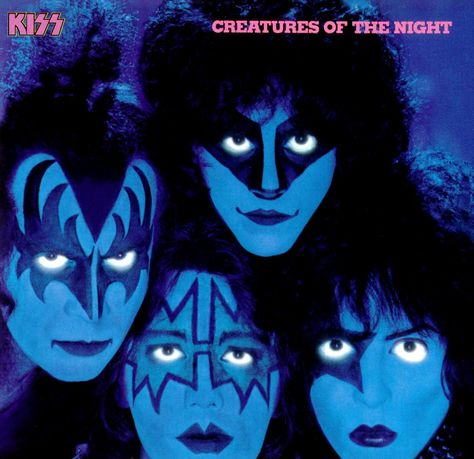Kiss Creatures of the Night. The Year 1982 Before They Took Off There Makeup. Still A Great Album.....