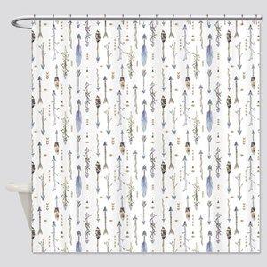 Lyingcat Mug Arrow Shower Curtain Curtains Shower Curtain