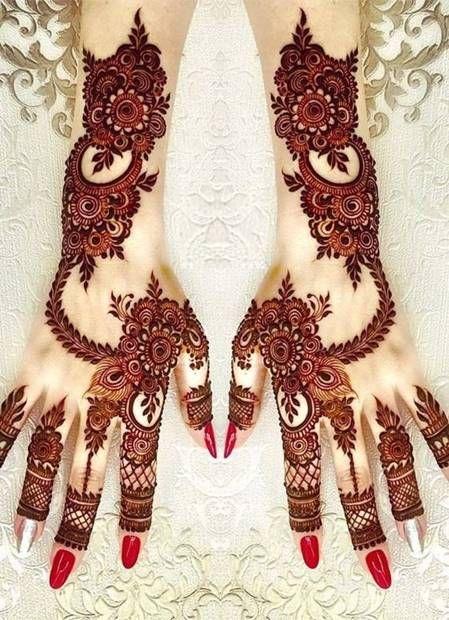تعلم نقش الحناء للمبتدئين مع افضل تصاميم الحناء نقش حناء رسم حناء Henna Tattoo Engagement Mehndi Designs Mehndi Designs Mehndi Designs For Girls