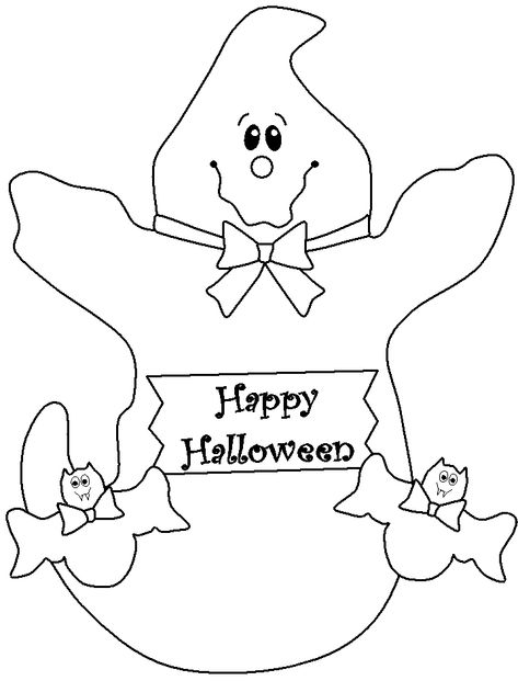 Ghost Coloring Pages To Print Halloween Coloring Pages For Kids