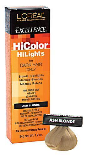 Hicolor Blonde Hilights Permanent Creme Hair Color Ash Blonde