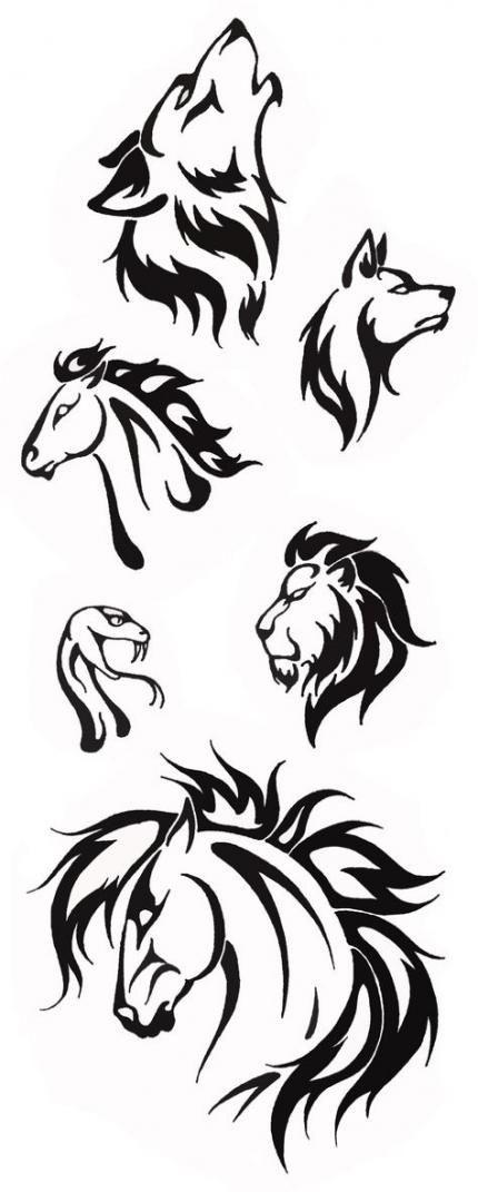 Tattoo Animal Tribal Patterns 64 Ideas Tribal Animal Tattoos Tribal Drawings Tribal Animals