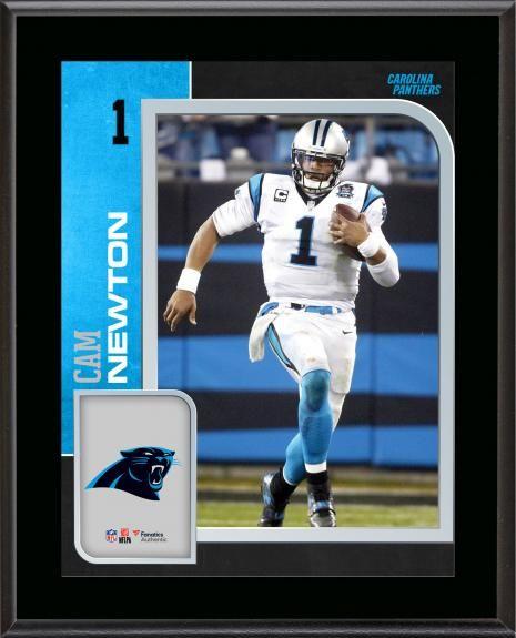 f2902071 Cam Newton Carolina Panthers 10.5'' x 13'' Sublimated Player Plaque ...