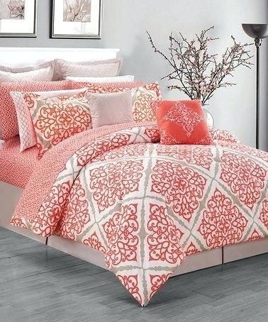 Image Result For Coral King Bedding Coral Bedroom Relaxing
