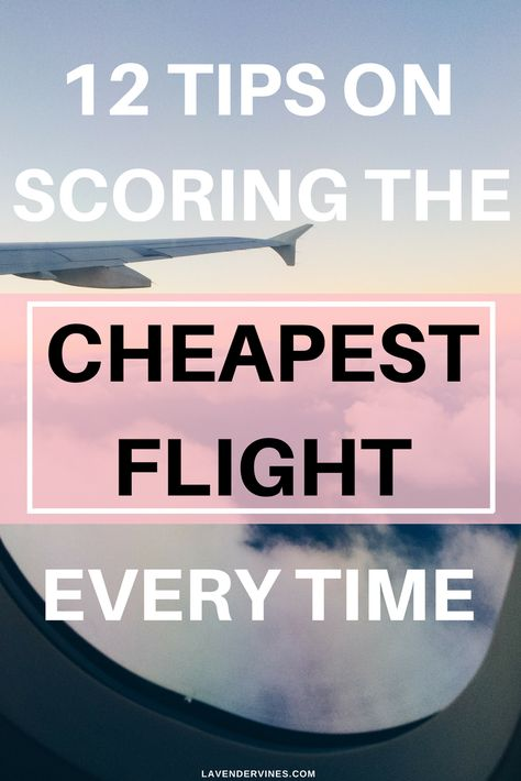 How can I find the cheapest flights possible? That's what everyone wants to know right? I have traveled more flights than I can really count, and the thing is sometimes I scored and sometimes I didn't.Thankfully, I figured out a method of flight search that leaves me comfortable with my purchase every single time.
