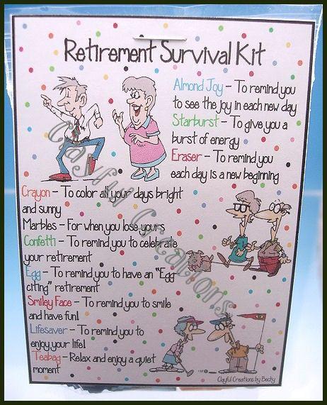 RETIREMENT Survival Kit                                                                                                                                                                                 More