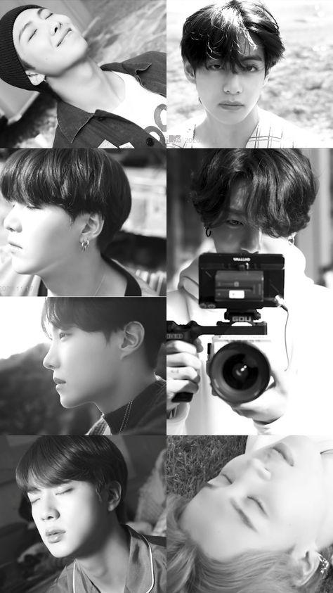 #BTSwallpapers #BTSpics #방탄소년단 <Life Goes On> Official Teaser 2 #Namjoon #Jin #Yoongi #Hoseok #Jimin #Taehyung #Jungkook #BTS_BE #LifeGoesOn #BlackAndWhite 🌠VISITAR SITIO 🌠