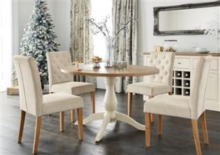Shaftesbury Painted Round 4 Seater Dining Table from Next | Heather's happy  home | Pinterest | Cosy, Dinning room ideas and English style