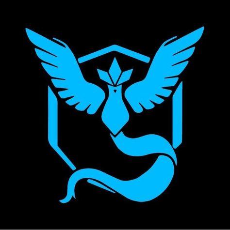 Sticker Articuno Pokemon go Team Mystic Decal