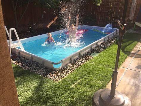 Costco Bestway Pool Underground Children Swimming Pool Backyard Pool Landscaping Pool Landscaping