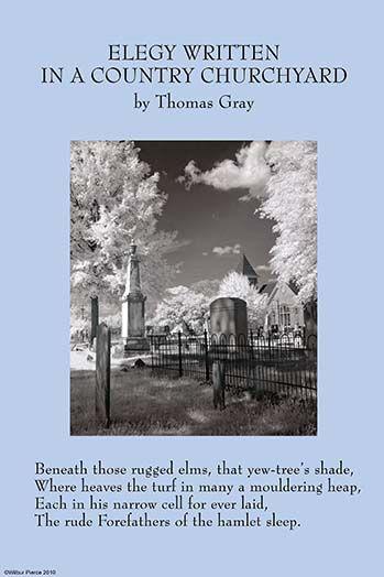 Elegy Written In A Country Churchyard By Thomas Gray Art Print Postercrazed Grey Art Print Grey Art Elegy