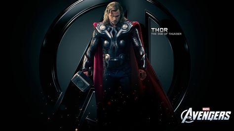 Chris hemsworth mjolnir the avengers movie thor