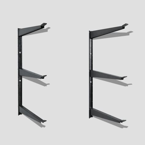 Versacaddy Versacaddy 48 In X 48 In Shelving And Hooks Organization Kit With 8 Durable Pvc Shelves And 4 Hooks 01162500 The Home Depot In 2020 Wall Racks Wall Storage Traditional Shelves