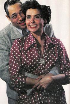 Duke Ellington & Lena Horne.